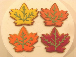 maple leaf cookiesjpg